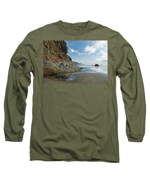 Hug Point Beach Long Sleeve T-Shirt