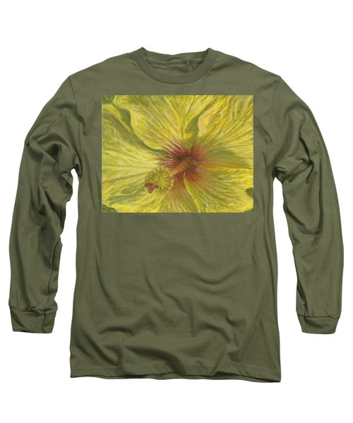 Hula Girl Long Sleeve T-Shirt