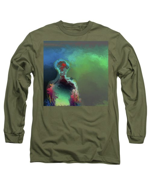 Humanoid In The Fifth Dimension Long Sleeve T-Shirt