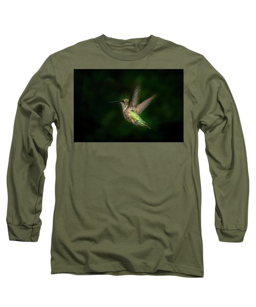 Hummingbird B Long Sleeve T-Shirt