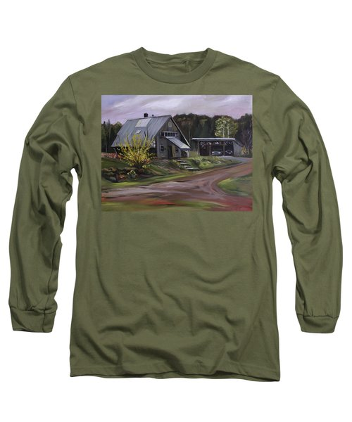Humpals Barn Long Sleeve T-Shirt