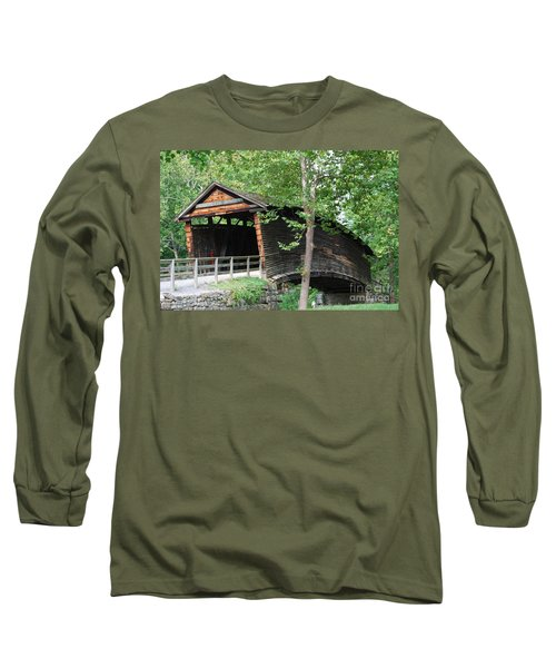 Long Sleeve T-Shirt featuring the photograph Humpback Bridge by Eric Liller