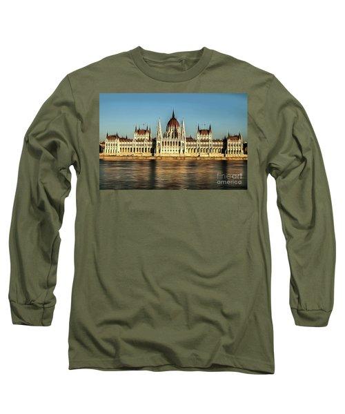 Hungarian National Parliament Long Sleeve T-Shirt