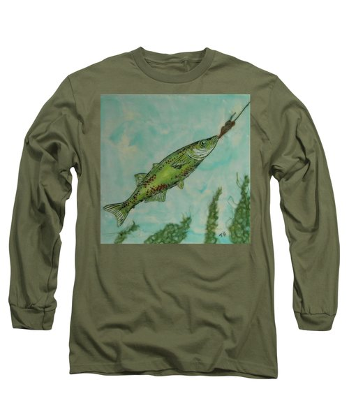 Hungry Long Sleeve T-Shirt by Terry Honstead