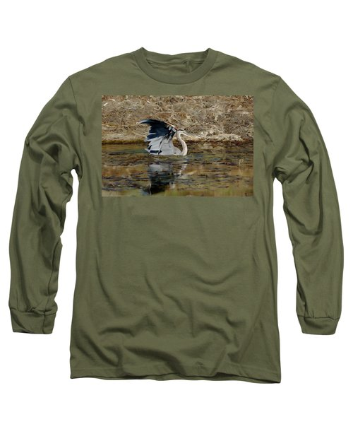 Hunting For Fish 5 - Digitalart Long Sleeve T-Shirt