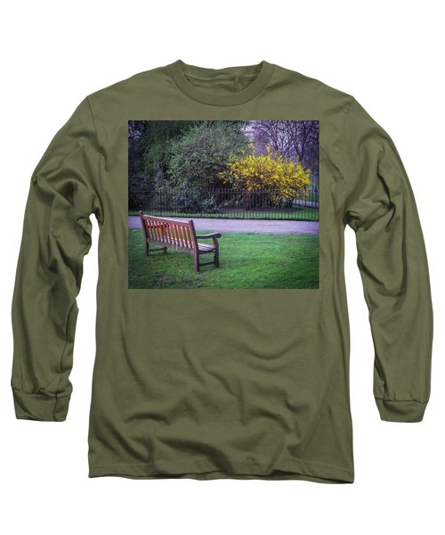 Hyde Park Bench - London Long Sleeve T-Shirt
