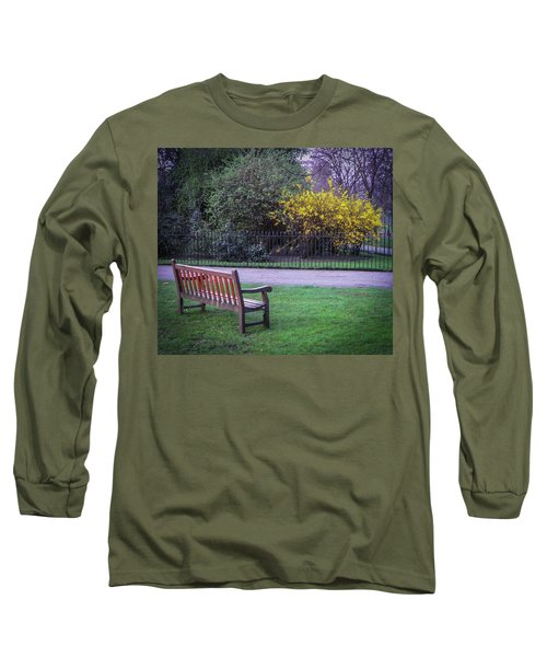 Hyde Park Bench - London Long Sleeve T-Shirt