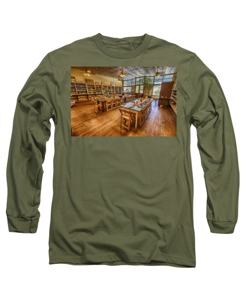 Long Sleeve T-Shirt featuring the tapestry - textile Hye Market General Store by Kathy Adams Clark