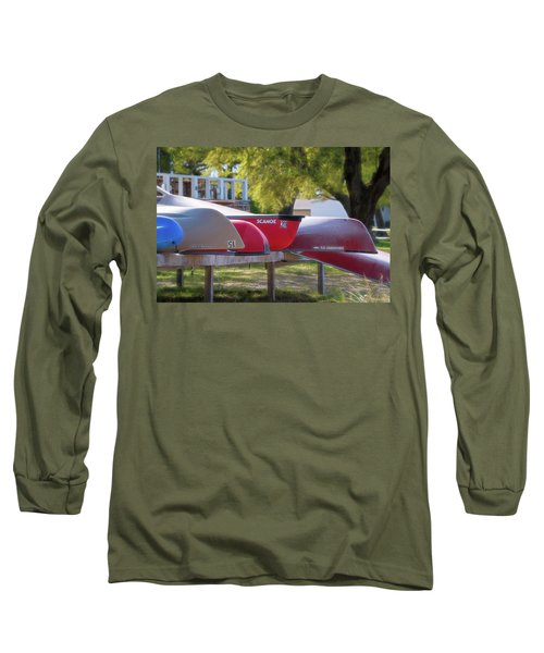I Believe I'll Go Canoeing Long Sleeve T-Shirt