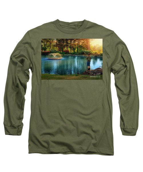 I Could Be Fishing Long Sleeve T-Shirt