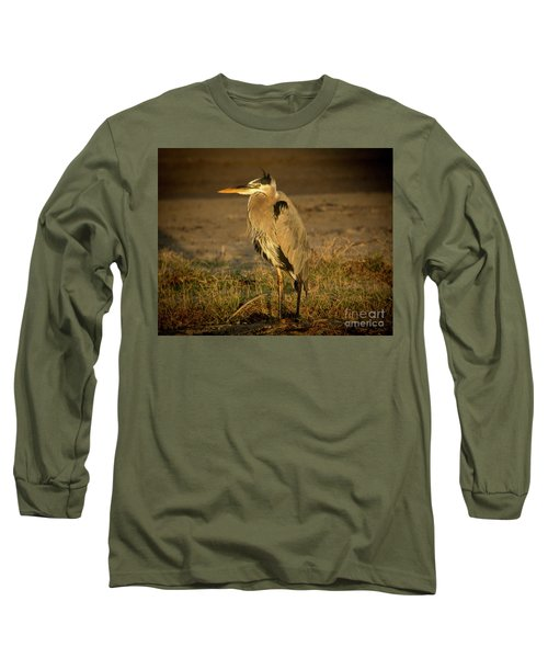 I Know They Are Coming Wildlife Art By Kaylyn Franks Long Sleeve T-Shirt