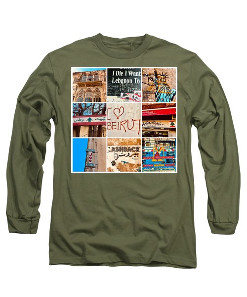 I Love Beirut Long Sleeve T-Shirt