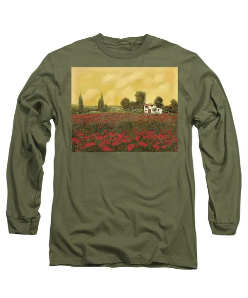 I Papaveri E La Calda Estate Long Sleeve T-Shirt