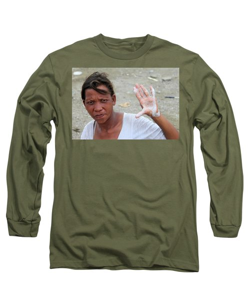 I Swear Long Sleeve T-Shirt by Jez C Self