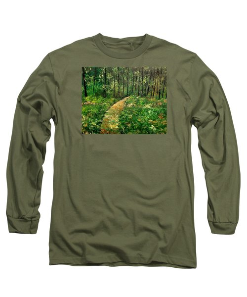 I Think It's Time For Our Walk Long Sleeve T-Shirt