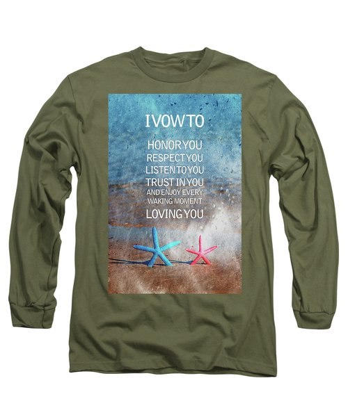 I Vow To... Long Sleeve T-Shirt