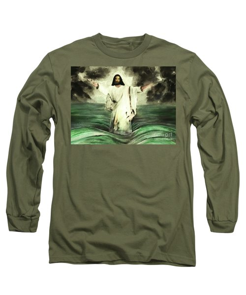 I Am Will Calm Your Sea Long Sleeve T-Shirt