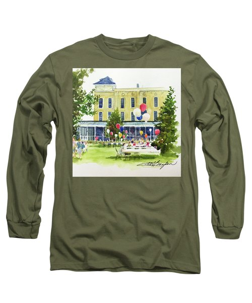 Ice Cream Social And Strawberry Festival, Lakeside, Oh Long Sleeve T-Shirt