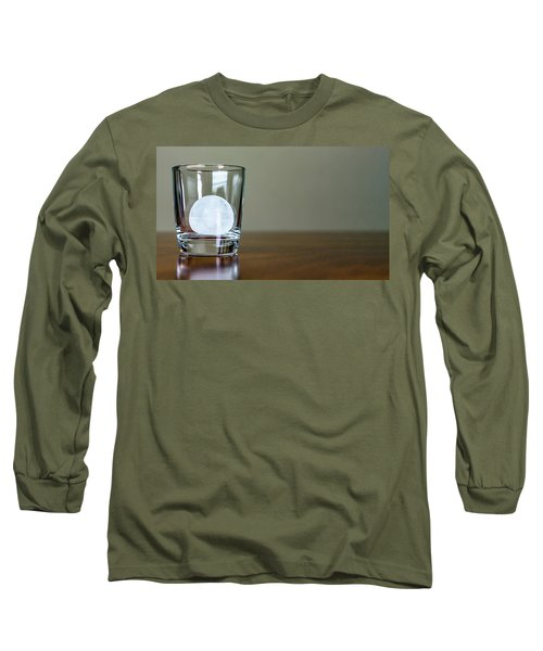 Ice For Whisky Or Cocktail Long Sleeve T-Shirt
