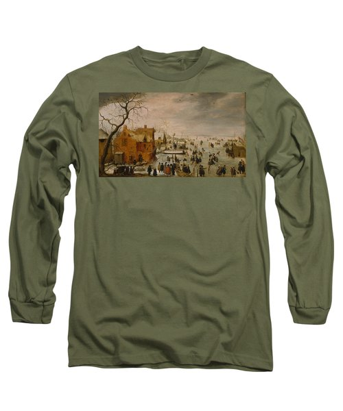 Ice Landscape Long Sleeve T-Shirt
