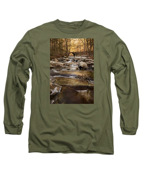 Ice On Stickney Brook Long Sleeve T-Shirt