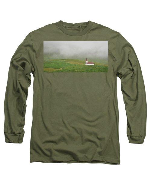 Icelandic Chapel Long Sleeve T-Shirt by Joe Bonita