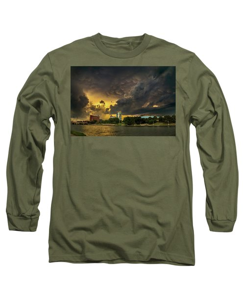 ict Storm - High Res Long Sleeve T-Shirt