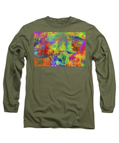 Long Sleeve T-Shirt featuring the photograph Icy Kaleidoscope by Tony Beck