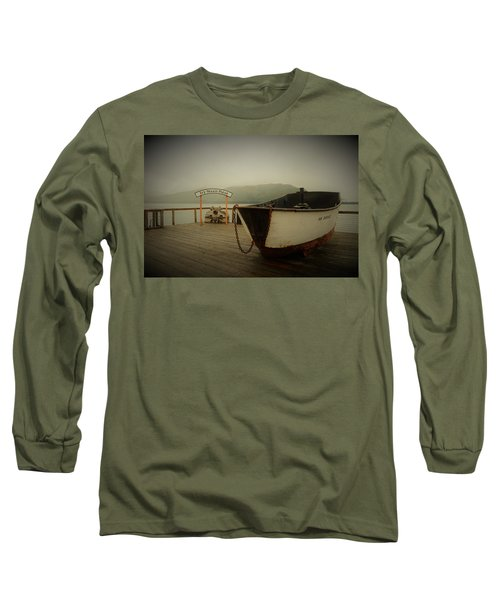 Icy Strait Point Boat Long Sleeve T-Shirt