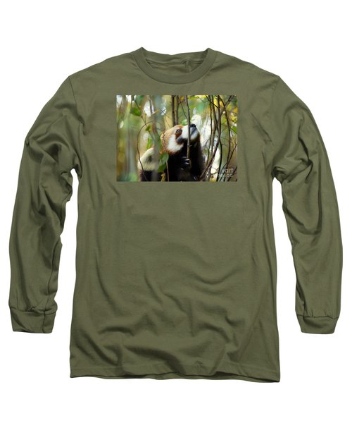 Long Sleeve T-Shirt featuring the photograph Idgie In A Tree by Lisa L Silva