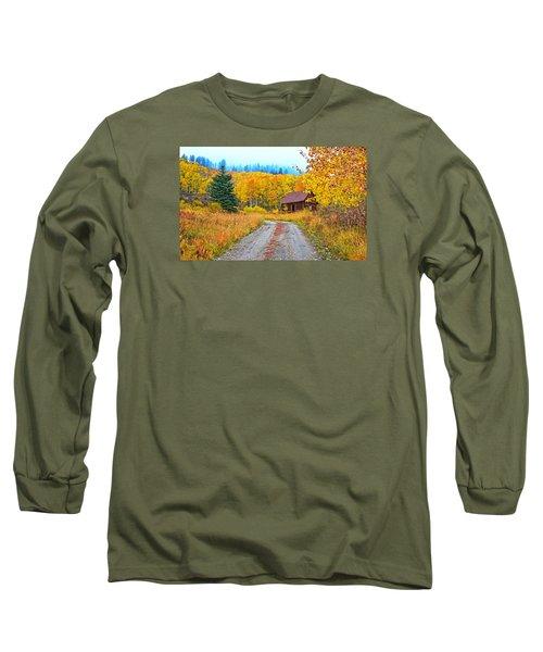 Idyllic Nostalgia Long Sleeve T-Shirt by Bijan Pirnia