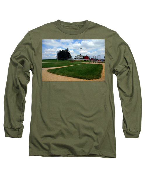 If You Build It They Will Come Long Sleeve T-Shirt by Susanne Van Hulst
