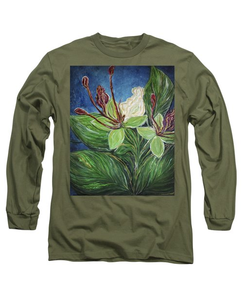 Ifit Flower Guam Long Sleeve T-Shirt