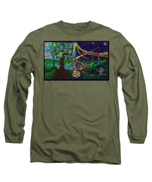 Il Paradiso Il Modello Della Genesi Long Sleeve T-Shirt