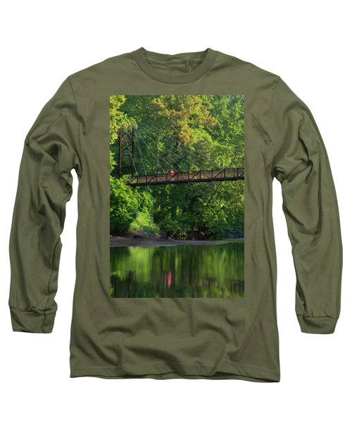 Ilchester-patterson Swinging Bridge Long Sleeve T-Shirt