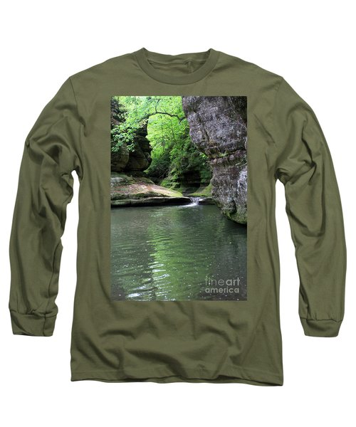 Illinois Canyon Summer Long Sleeve T-Shirt