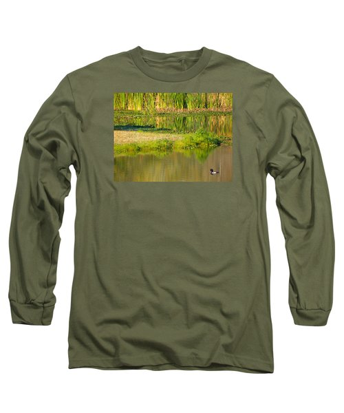Long Sleeve T-Shirt featuring the photograph Illusion Confusion by Rosalie Scanlon