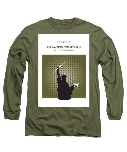 I'm Waiting For My Man -- The Velvet Underground Long Sleeve T-Shirt