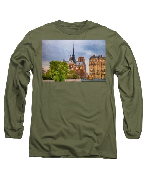 Impression, Paris Long Sleeve T-Shirt