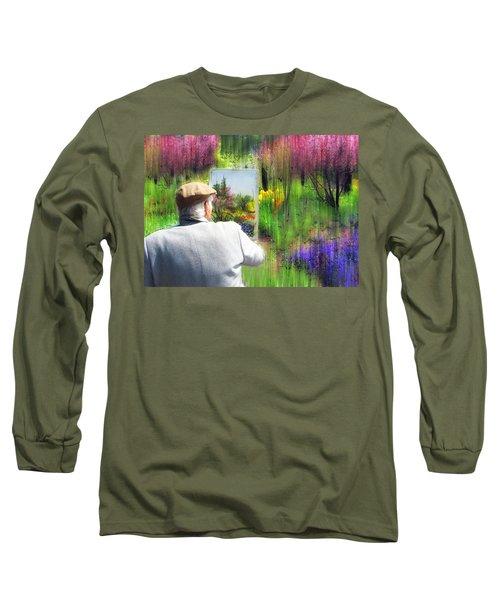 Impressionist Painter Long Sleeve T-Shirt