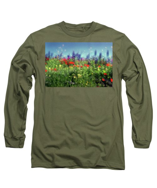 Impressionistic Springtime Long Sleeve T-Shirt