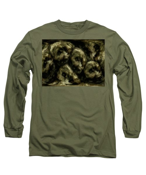 Long Sleeve T-Shirt featuring the digital art In A Swedish Troll Forest by Gun Legler