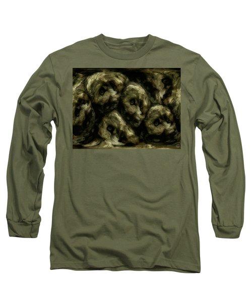 In A Swedish Troll Forest Long Sleeve T-Shirt by Gun Legler