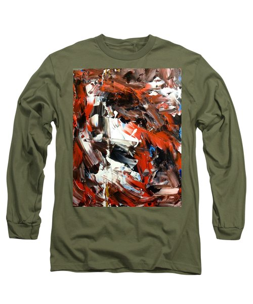 In Abstraction  - Rbw No.2 Long Sleeve T-Shirt