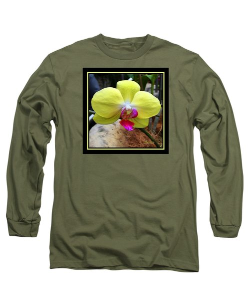 Long Sleeve T-Shirt featuring the photograph In Living Color by Steven Lebron Langston