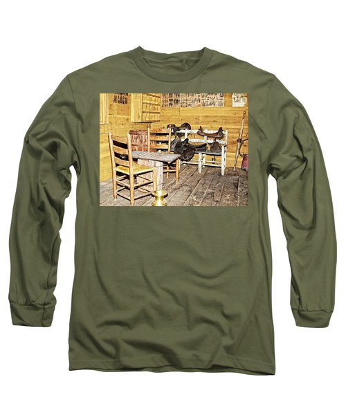 In The Barn Long Sleeve T-Shirt