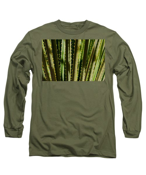 In The Cactaceae Weeds Long Sleeve T-Shirt