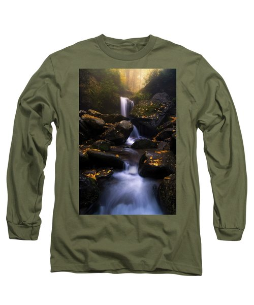 In The Mist Long Sleeve T-Shirt by Bjorn Burton