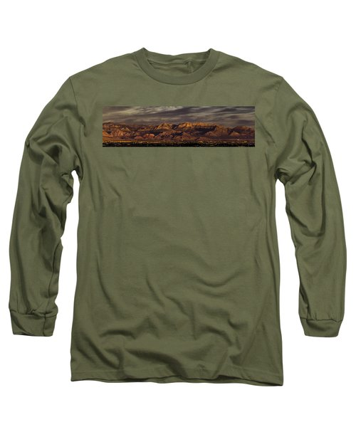 In The Morning Light Long Sleeve T-Shirt by Ed Clark
