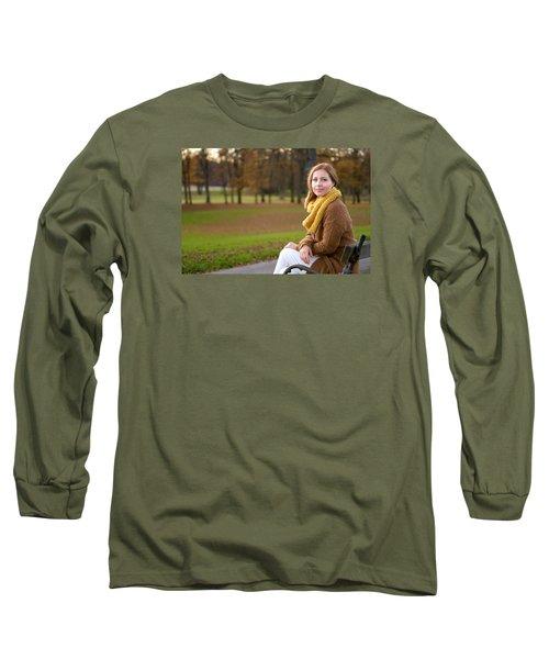 In The Park Long Sleeve T-Shirt by Robert Krajnc